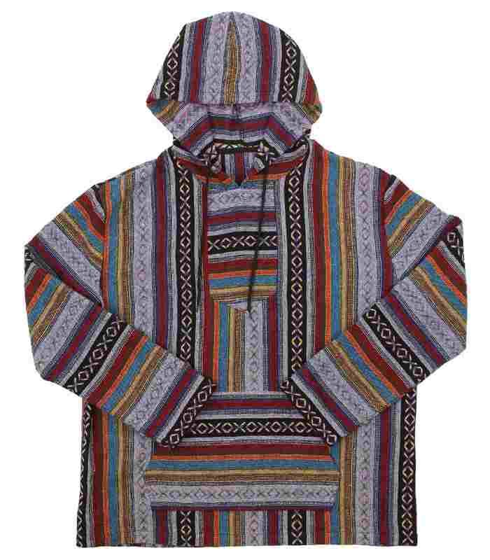 mexican baja hoodie womens
